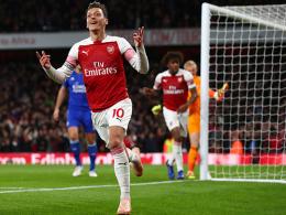Özil führt Arsenal bei Galavorstellung