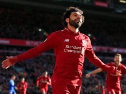 Ein Tor, zwei Assists: Salah führt Reds zum 4:1
