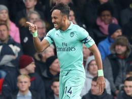 Aubameyang und Leno retten Arsenals Auswärtssieg
