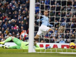 3:1 gegen Everton! Sané legt zweimal für Gabriel Jesus auf