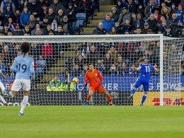 1:2 in Leicester: ManCity nur noch Dritter
