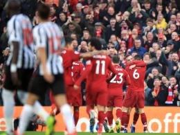 Liverpool hängt ManCity ab - Salah sorgt für Diskussionen