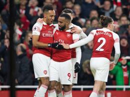Lacazette und Koscielny führen Arsenal zum Sieg