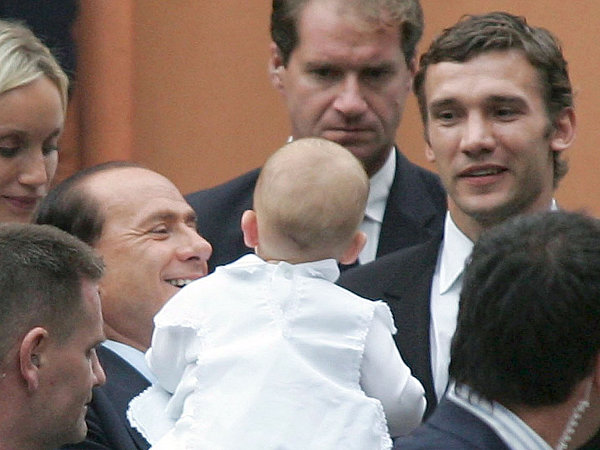 Berlusconi, Shevchenko