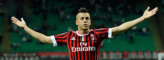 Machte den Ausgleich für Milan: Youngster El Shaarawy.