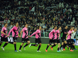 Juve feiert den deutlichen Sieg über Napoli.