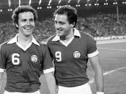 Chinaglia mit Beckenbauer
