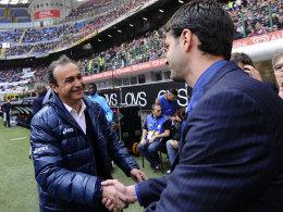 Pasquale Marino und Andrea Stramaccioni