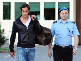 Entlassen: Die Haft ist für Lazio-Kapitän Stefano Mauri erstmal vorbei. Er steht aber unter Hausarrest.