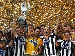 Juventus Turin feiert in Peking