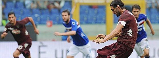 Konterkarierte Sampdorias Überlegenheit mit seinem Elfmeter zum 1:0 (Endstand 1:1: Torinos Rolando Bianchi.