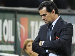 Auch die zweite Amtszeit in Cagliari endete vorzeitig: Trainer Massimo Ficcadenti.