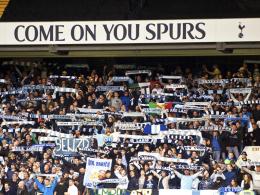 Lazio-Anhänger an der White Hart Lane: Einige im Gästeblock beleidigten Spurs-Spieler rassistisch.