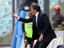 Das 2:4 gegen die Roma war seine Abschiedsvorstellung im Stadio Luigi Ferraris: Luigi de Canio.