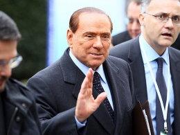 Muss Milan-Boss Berlusconi bald hinter Gittern?