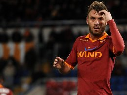 Quo vadis, de Rossi? Die Zukunft des Nationalspielers liegt wohl nicht am Tiber.