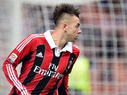 Milan konnte sich beim SSC Neapel wieder auf seinen Torjäger El Shaarawy verlassen.