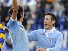 Guiseppe Biava und Miroslav Klose