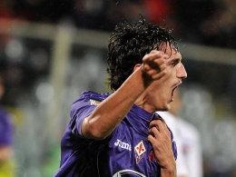 Bewahrte mit zwei Treffern Florenz vor einer Blamage: Stefan Savic.