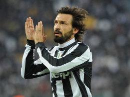 Andrea Pirlo ist mit Juventus der Gewinner des Spieltags.
