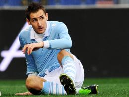 Muss in Palermo zusehen: Lazio Roms Angreifer Miroslav Klose.