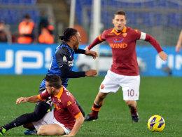 Diesmal hat die Roma die Nase vorn