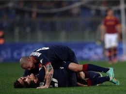 Cagliari jubelte viermal beim ruhmreichen AS Rom und feierte ein überraschendes 4:2.