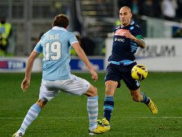 Sieht sein Ansehen schwer beschädigt: Neapels Kapitän Paolo Cannavaro.
