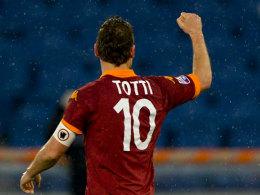 Gegen Parma feierte Romas Legende Francesco Totti seinen 226. Treffer in der Serie A.