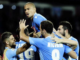 Kollektiver Jubel in Neapel: Der Start gegen Bologna verlief überzeugend.