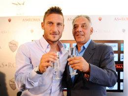 Francesco Totti und James Pallotta