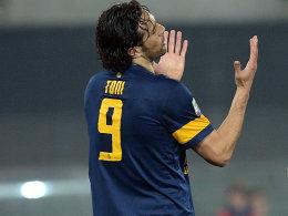 Konnte Inter nicht ärgern: Luca Toni.