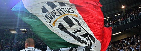 In Turin sorgten die Juve-Fans für eine tolle Atmosphäre