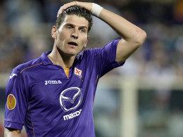 Trainingsspiel ja, Pflichtspiel fraglich: Fiorentina-Stürmer Mario Gomez.