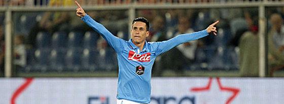 Garant des Dreiers: José Callejon traf für Napoli gegen Sassuolo.