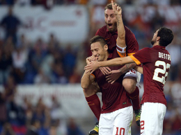 Traf gegen Chievo zum 3:0 vom Elfmeterpunkt und wurde von Daniele de Rossi frenetisch bejubelt: Francesco Totti.