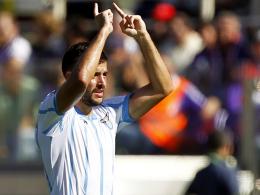 Brachte Lazio in Front: Der Serbe Filip Djordjevic.