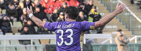Fiorentina-Stürmer Mario Gomez