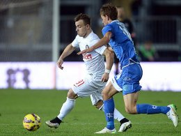 Xherdan Shaqiri gegen Matteo Bachini