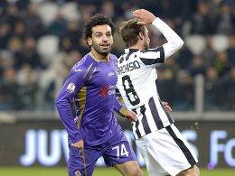 Matchwinner für Florenz: Salah traf zwei Mal bei Juventus.