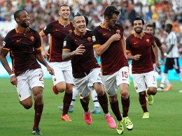 Angekommen: R�diger steigt bei der Roma ein