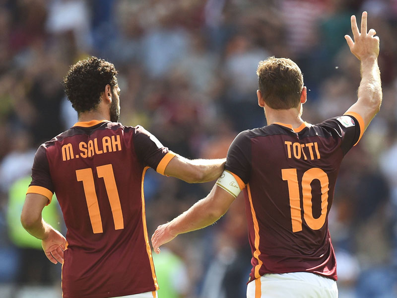 Totti und Salah