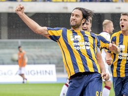 Hellas rund acht Wochen ohne Luca Toni