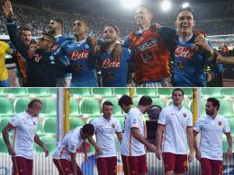 Napoli oder Roma: Wer spielt den besten Fu�ball?