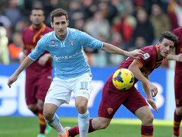 Vorschau: R�diger vs. Klose: Verlieren verboten im r�mischen Derby