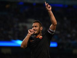 Karriereende mit 39? Nicht mit Roma-Legende Totti!