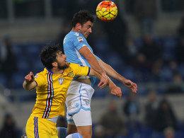 Lazio im Pech - Juventus mischt wieder mit