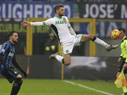 Inter verliert sp�t - Napoli und Juve ziehen vorbei