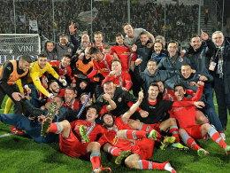 Die Party geht weiter: Alessandria steht im Halbfinale der Coppa Italia.