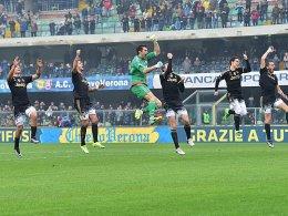 Juve rauscht zum Rekord - Mancinis Stinkefinger